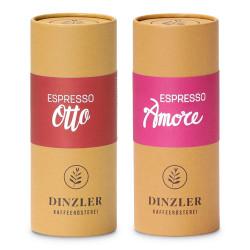 """Kaffeebohnen-Set Dinzler Kaffeerösterei """"Espresso Amore & Espresso Otto"""", 500 g"""