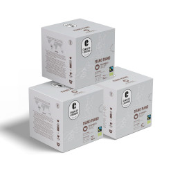 """Coffee capsules compatible with Dolce Gusto® set Charles Liégeois """"Mano Mano"""", 3 x 16 pcs."""
