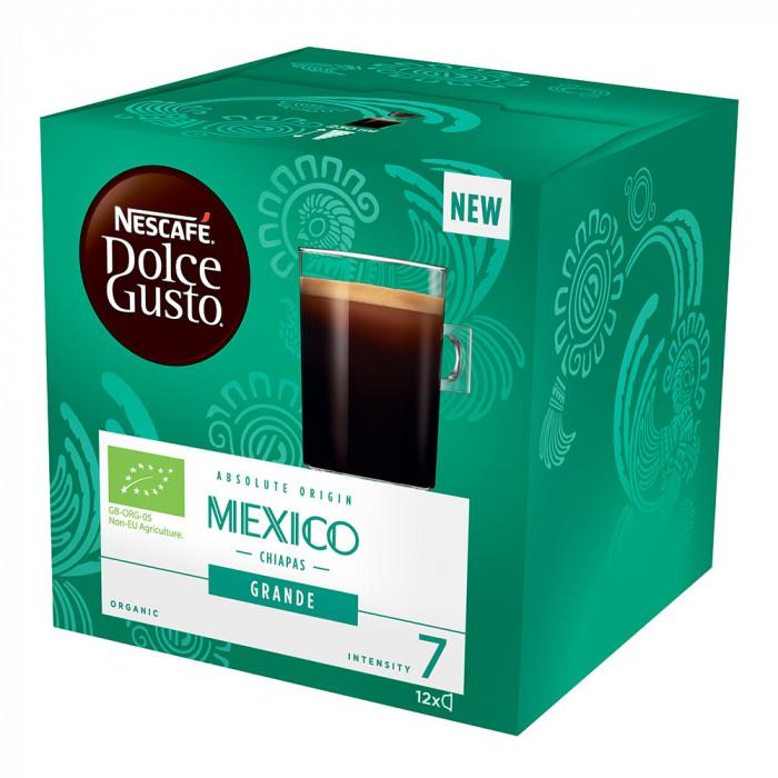 "Kahvikapselit NESCAFÉ Dolce Gusto ""Grande Mexico Organic"", 12 kpl."