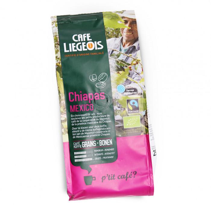 "Kavos pupelės Café Liégeois ""Chiapas"", 250 g"