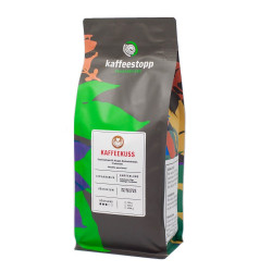"Kaffeebohnen Kaffeestopp Privatrösterei ""Kaffeekuss"" 500 g"