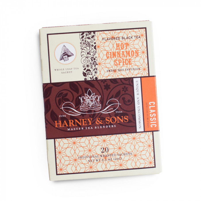 "Aromaatne must tee Harney & Sons ""Hot Cinnamon Spice"""