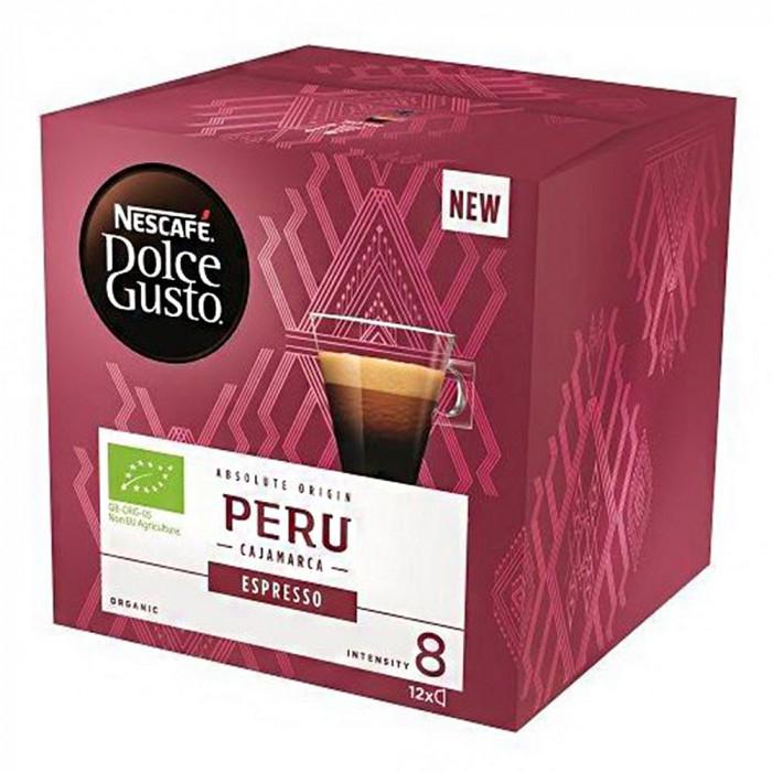 """Coffee capsules NESCAFÉ Dolce Gusto """"Espresso Peru"""", 12 pcs."""