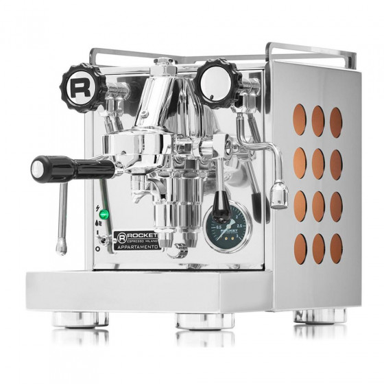 "Coffee machine Rocket Espresso ""Appartamento Copper"""