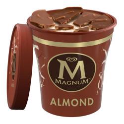 "Valgomieji ledai Magnum ""Almond"", 440 ml"