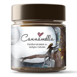 Piena karamele krēms ar lazdu riekstiem Cannamella, 240 g