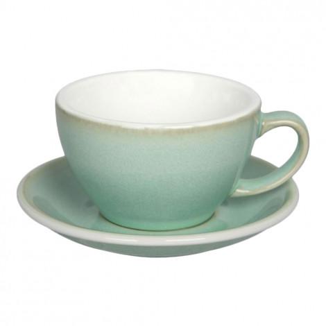 "Puodelis su lėkštute Loveramics ""Egg Basil"", Café Latte, 300 ml"