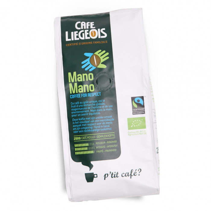 "Ground coffee Café Liégeois ""Mano Mano"", 250 g"