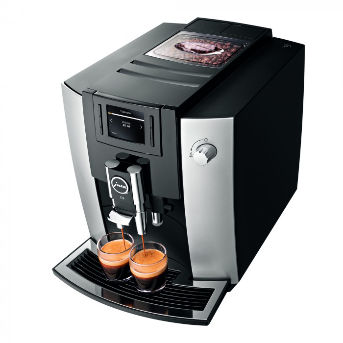 coffee machine jura impressa e6 the coffee mate. Black Bedroom Furniture Sets. Home Design Ideas