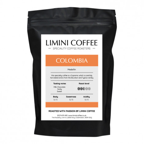 "Coffee beans Limini Coffee ""Colombia Medellin"", 1 kg"