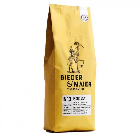 "Kaffeebohnen Bieder & Maier Master Blend ""N°3 FORZA"", 1 kg"