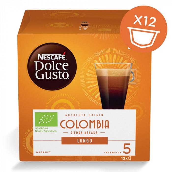 """Kohvikapslid NESCAFÉ Dolce Gusto """"Lungo Colombia"""", 12 tk."""