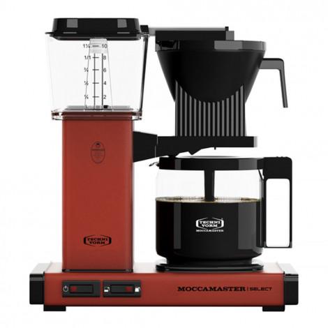"""Filtrētu kafijas automāts Moccamaster """"KBG 741 Select Brick Red"""""""