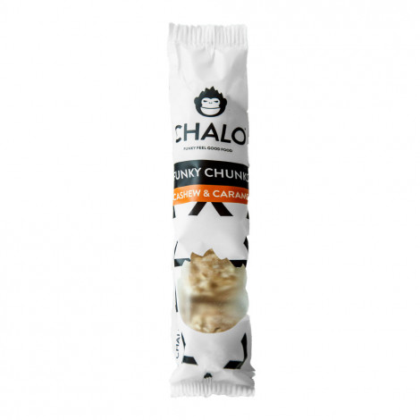 "Graudu batoniņš Chalo ""Cashew & Caramel"", 32 g"