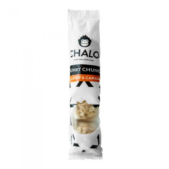 """Javainių batonėlis Chalo """"Cashew & Caramel"""", 32 g"""