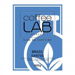 """Kawa ziarnista CoffeeLab """"Brazylia Santos"""", 1 kg"""