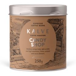 """Kafijas pupiņas KALVE """"Candy Shop"""" 250 g"""