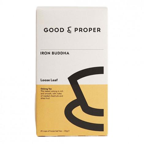 "Oolong tea Good and Proper ""Iron Buddha"", 50 g"