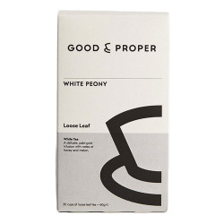 "Herbata biała Good and Proper ""White Peony"", 60 g"