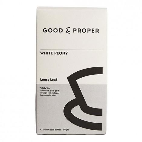 """White tea Good and Proper """"White Peony"""", 60 g"""