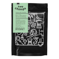 "Coffee beans Two Chimps ""More coal for the internet"", 250 g"
