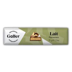 """Šokolādes batoniņš Galler """"Milk Crispy"""", 70 g"""