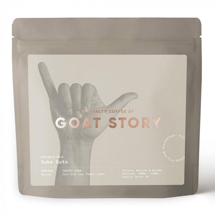 """Rūšinės kavos pupelės Goat Story """"Ethiopia Suke Quto"""", 250 g"""