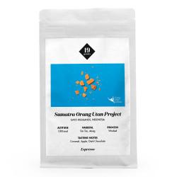 "Kaffeebohnen 19 grams ""Sumatra Orang Utan Project Espresso"", 1 kg"