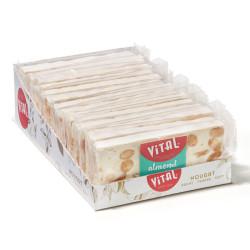 """Nougat bar set Vital """"Almond"""", 15 x 45 g"""