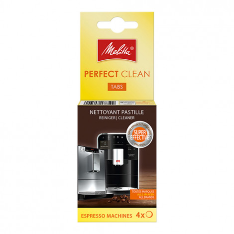 "Puhastustabletid Melitta ""Perfect Clean"", 4 pcs."