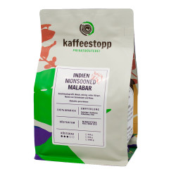 "Kaffeebohnen Kaffeestopp Privatrösterei ""India Monsooned Malabar"" 250 g"