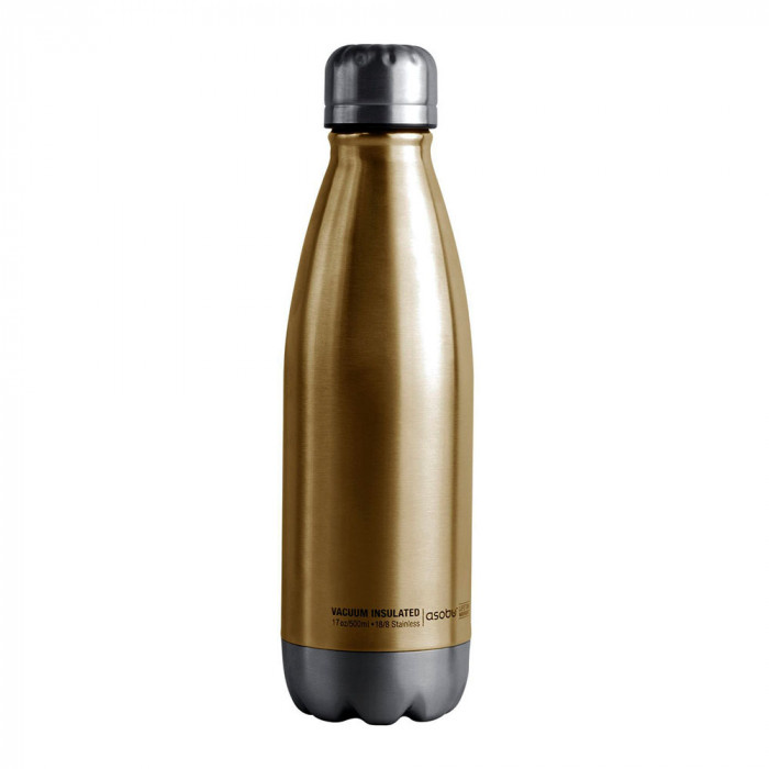"Thermo bottle Asobu ""Central Park Gold/Silver"", 500 ml"