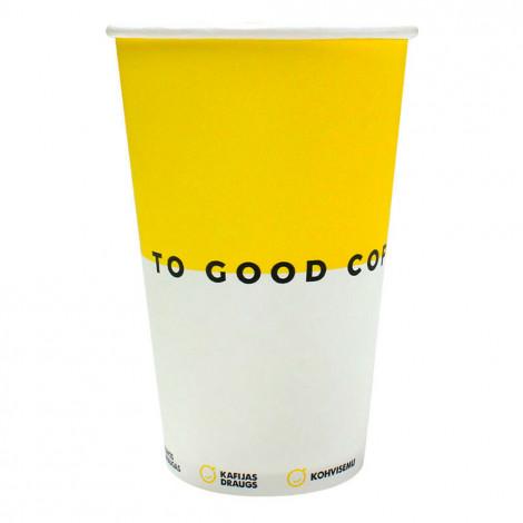Popieriniai puodeliai, 230 ml, 50 vnt.