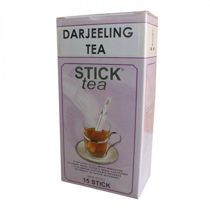 """Musta tee Stick Tea """"Darjeeling Tea"""", 50 kpl."""