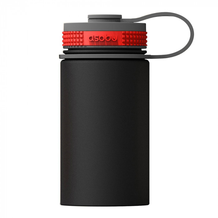 "Termospudel Asobu ""Mini Hiker Black"", 355 ml"