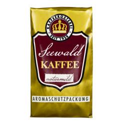"""Gemahlener Kaffee Seewald Kaffeerösterei """"Kaffee Naturmild"""" (Siebträger), 500 g"""