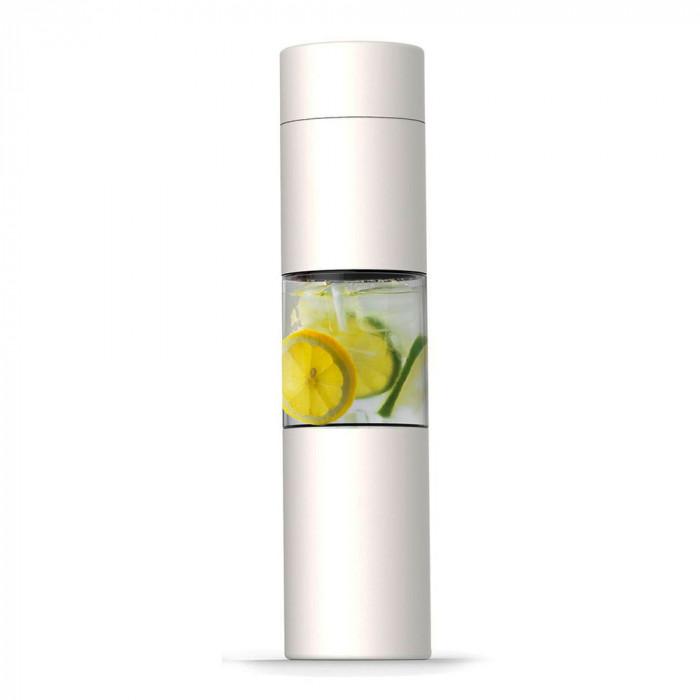 "Water bottle Asobu ""Flavour U See White"", 430 ml"