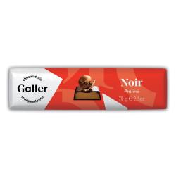 """Šokolādes batoniņš Galler """"Dark Praliné"""", 70 g"""