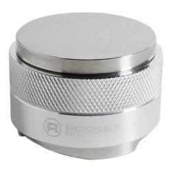 """Divi vienā – tamperis un samaltās kafijas izlīdzinātājs """"Rocket Espresso"""" (Alumīnija)"""