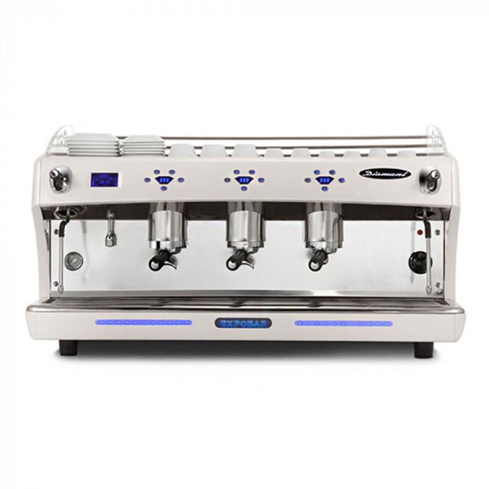 """Kafijas automāts Expobar """"Diamant PID Glass"""" trīs grupu"""