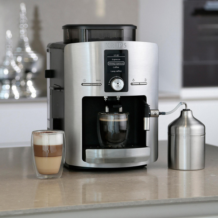 coffee machine krups ea826e the coffee mate. Black Bedroom Furniture Sets. Home Design Ideas