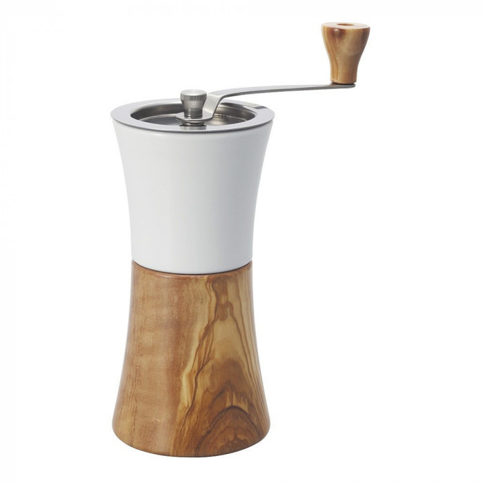 "Ceramic coffee grinder Hario ""Olive wood"""