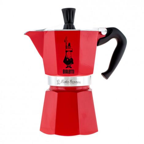 """Kafijas pagatavotājs Bialetti  """"Moka Express 6-cup Red"""""""