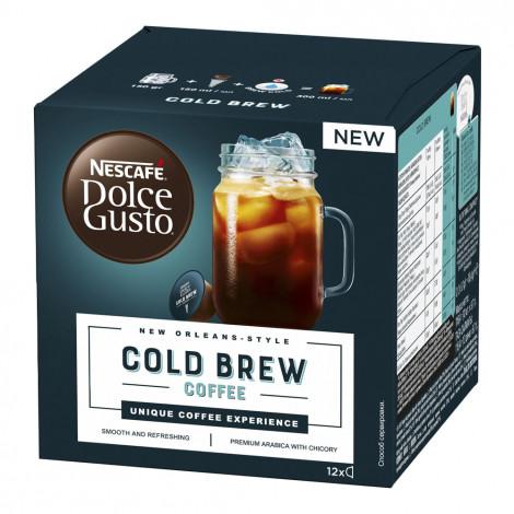 "Kavos kapsulės NESCAFÉ Dolce Gusto ""Cold Brew"", 12 vnt."