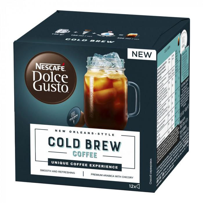 """Kohvikapslid NESCAFÉ Dolce Gusto """"Cold Brew"""", 12 tk."""