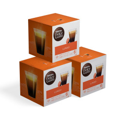 "Kaffeekapseln-Set NESCAFÉ Dolce Gusto ""Lungo"", 3 x 16 Stk."