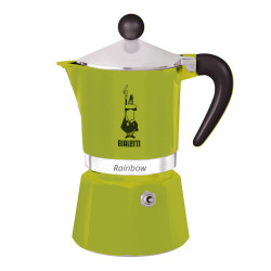 "Coffee maker Bialetti ""Moka Rainbow 3-cup Green"""