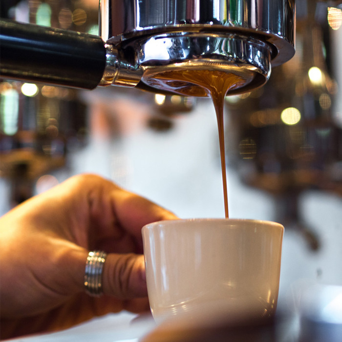 Bottomless coffee handle Lelit 57 mm