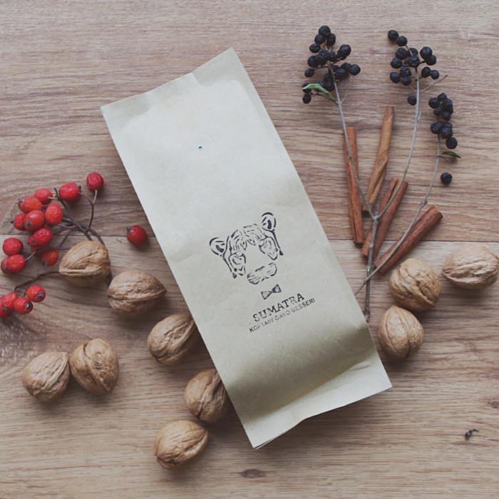 "Coffee beans ""Sumatra Koptain Gayo Besseri"", 250g"