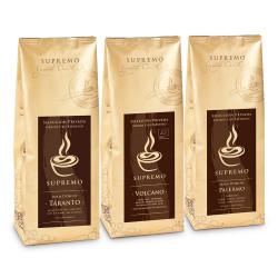 """Kaffeebohnen-Set """"SUPREMO 3er Set"""", 3 x 250 g"""